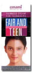 Fair and Teen Fairness Cream 120 ml