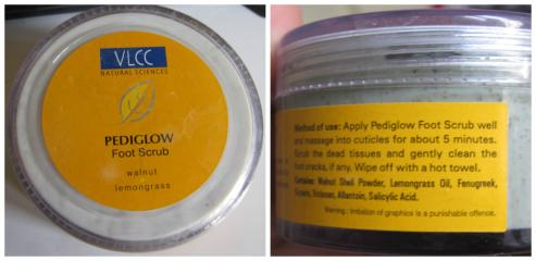 VLCC Pediglow Foot Scrub 120 gm